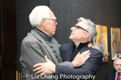 John Guare and Neil Pepe. Photo by Lia Chang