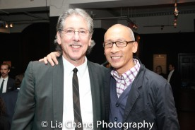Michael Parva and Francis Jue. Photo by Lia Chang