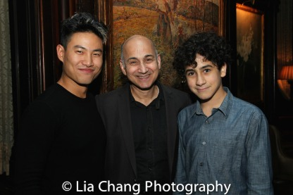 Tobias C. Wong, Ned Eisenberg and Lino. Photo by Lia Chang