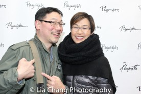 Ed Lin and Cindy Cheung. Photo by Lia Chang