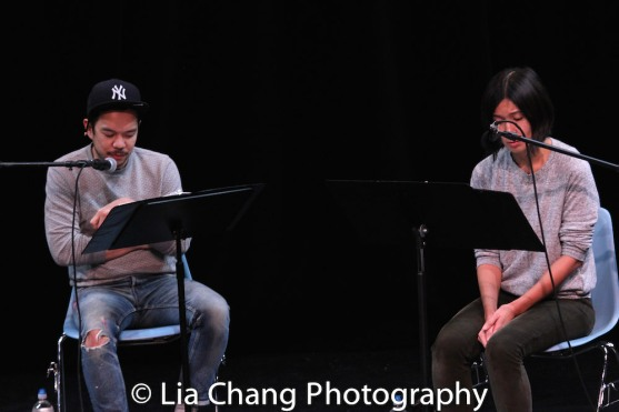 Jon Norman Schneider and Jihae Park. Photo by Lia Chang