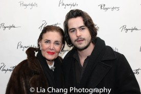 Linda Dano and Ben Schnetzer. Photo by Lia Chang