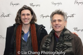 Lucas Hnath and David Greenspan. Photo by Lia Chang