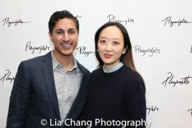 Maulik Pancholy and Sue Jean Kim. Photo by Lia Chang