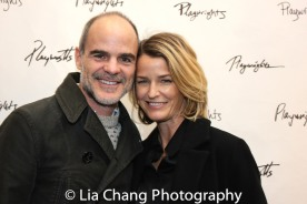 Michael Kelly and Karyn Mendel. Photo by Lia Chang
