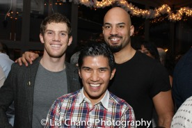 Alistair Brammer, Christopher Vo, Nicholas Christopher. Photo by Lia Chang