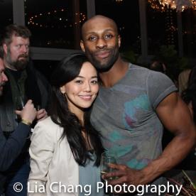 Minami Yusui and Taurean Everett. Photo by Lia Chang