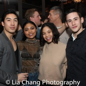 Devin Ilaw, Lianah Sta. Ana, Eva Noblezada, Warren Yang. Photo by Lia Chang