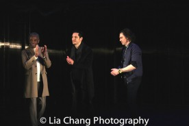 André De Shields, Ariel Shafir, Anson Mount. Photo by Lia Chang