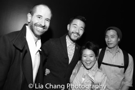Carlos Armesto, Daniel K. Isaac, Diana Oh and Grant Chang. Photo by Lia Chang