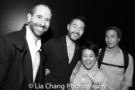 Carlos Armesto, Daniel K. Isaac, Diana Oh and Grant Chang. Photo by Lia Chang
