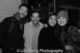 Daniel K. Isaac, Jon Norman Schneider and Olivia Oguma. Photo by Lia Chang