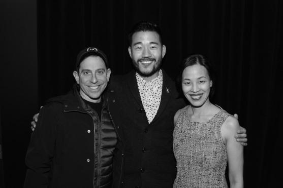 Garth Kravits, Daniel K. Isaac and Lia Chang