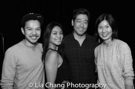 Jon Norman Schneider, Tersa Avia LIm, Peter Kim, Jiehae Park. Photo by Lia Chang