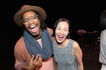 Keelay Gipson and Lia Chang. Photo by Garth Kravits