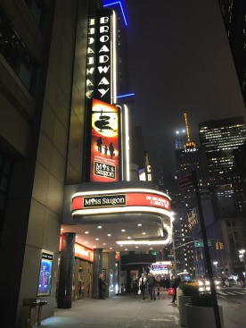 The Broadway Theatre. Photo by Lia Chang