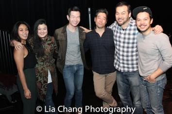 Teresa Avia Lim, Olivia Oguma, James Seol, Peter Kim, David Shih and Jon Norman Schneider. Photo by Lia Chang