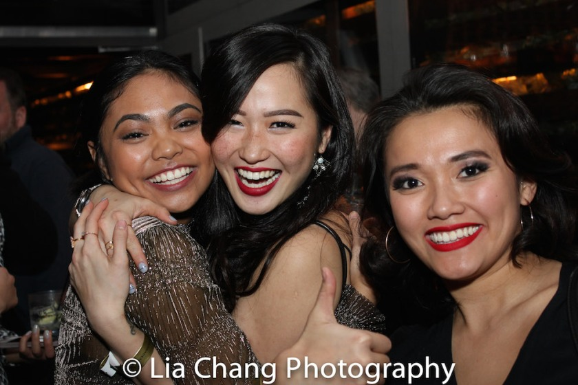 Lianah Sta. Ana, Tiffany Toh, Dorcas Leung. Photo by Lia Chang