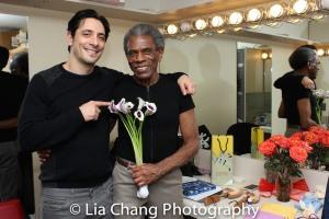 Ariel Shafir and André De Shields. Photo by Lia Chang
