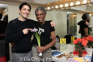 Ariel Shafir and André De Shields. Photo by Lia Chang