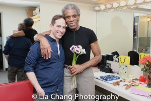 Garth Kravits and André De Shields. Photo by Lia Chang