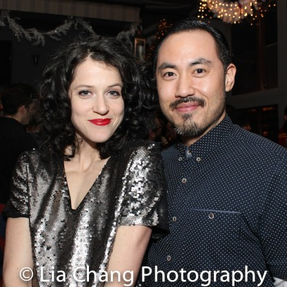 Paige Faure and Marcus Choi. Photo by Lia Chang