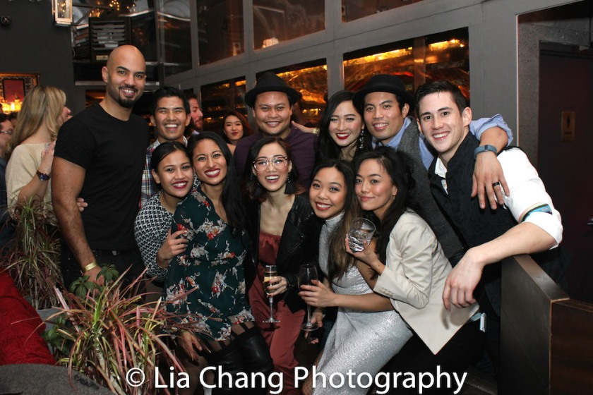 Nicholas Christopher, Christopher Vo, Emily Bautista, Jonelle Margallo, Lina Lee, Julius Sermonia, Kimberly-Ann Truong, Tiffany Toh, Jason Sermonia, Minami Yusui, Warren Yang. Photo by Lia Chang