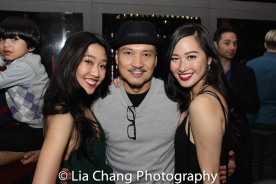 Viveca Chow, Jon Jon Briones, Tiffany Toh Photo by Lia Chang