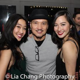 Viveca Chow, Jon Jon Briones, Tiffany Toh Photo by Lia Chang