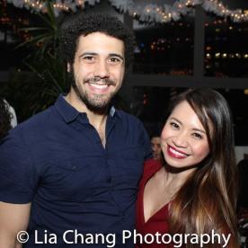 Travis Ward-Osborne and Carol Angeli. Photo by Lia Chang