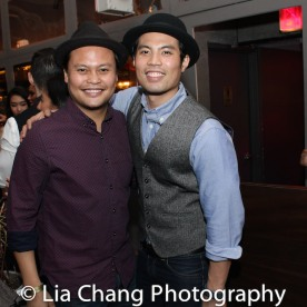 Brothers Julius Sermonia and Jason Sermonia. Photo by Lia Chang