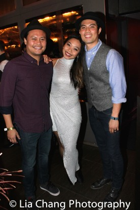 Julius Sermonia, Kimberly-Ann Truong and Jason Sermonia. Photo by Lia Chang