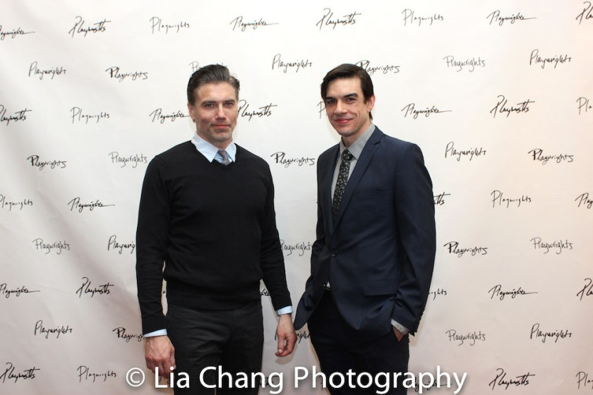 Anson Mount and Bobby Moreno. Photo by Lia Chang