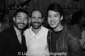 Daniel K. Isaac, Carlos Armesto and Julian Leong. Photo by Lia Chang