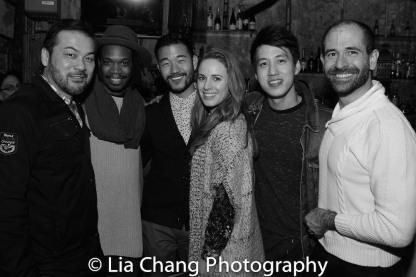 David Shih, Keelay Gipson, Daniel K. Isaac, Teal Wicks, Julian Leong and Carlos Armesto. Photo by Lia Chang