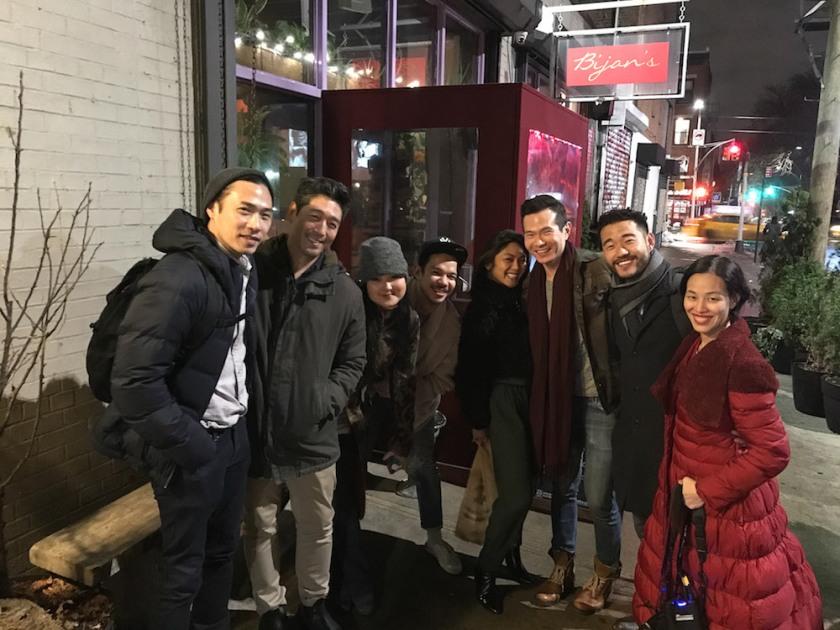 Grant Chang, Peter Kim, Olivia Oguma, Jon Norman Schneider, Teresa Avia LIm, James Seol, Daniel K. Isaac and Lia Chang