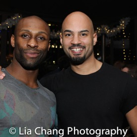 Taurean Everett and Nicholas Christopher. Photo by Lia Chang