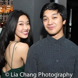 Viveca Chow and Julian DeGuzman. Photo by Lia Chang