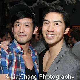 Hansel Tan and Devin Ilaw. Photo by Lia Chang