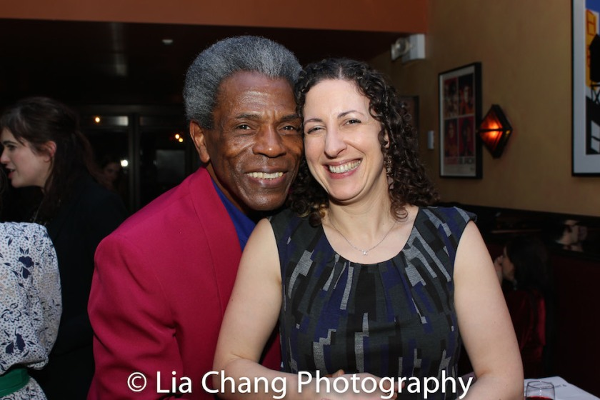 André De Shields and Erin Gioia Albrecht. Photo by Lia Chang
