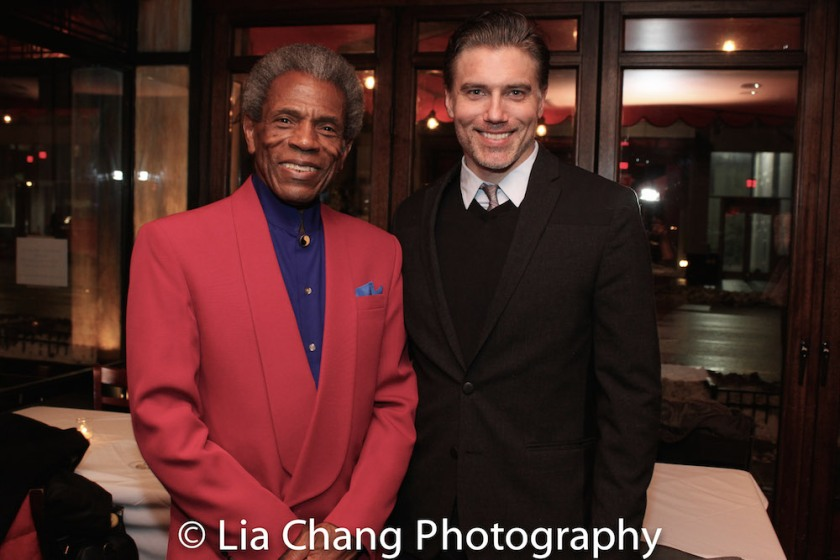 André De Shields and Anson Mount. Photo by Lia Chang