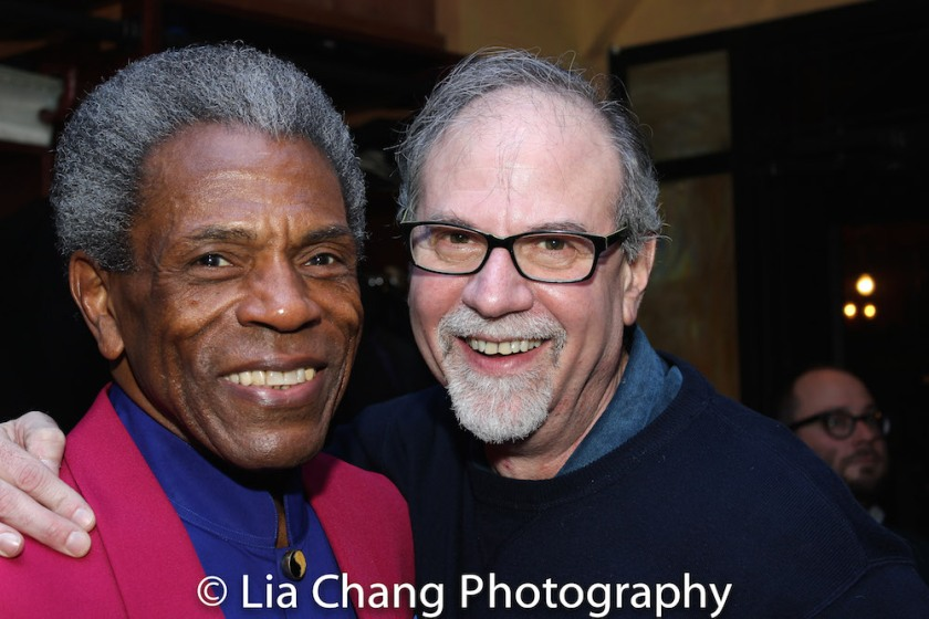 André De Shields and Ken Melamed. Photo by Lia Chang