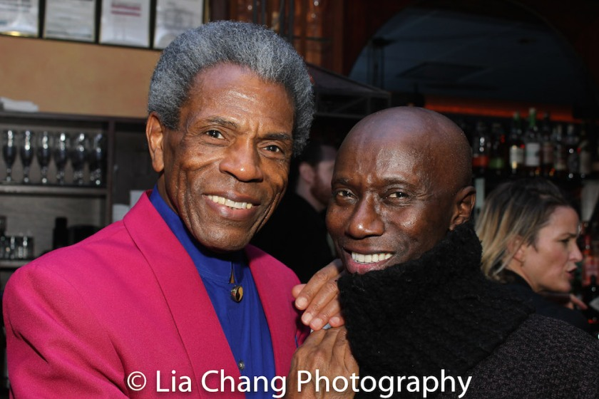André De Shields and Kenny Ingram. Photo by Lia Chang