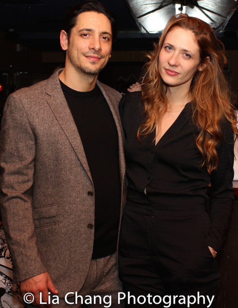 Ariel Shafir and Claire Siebers. Photo by Lia Chang