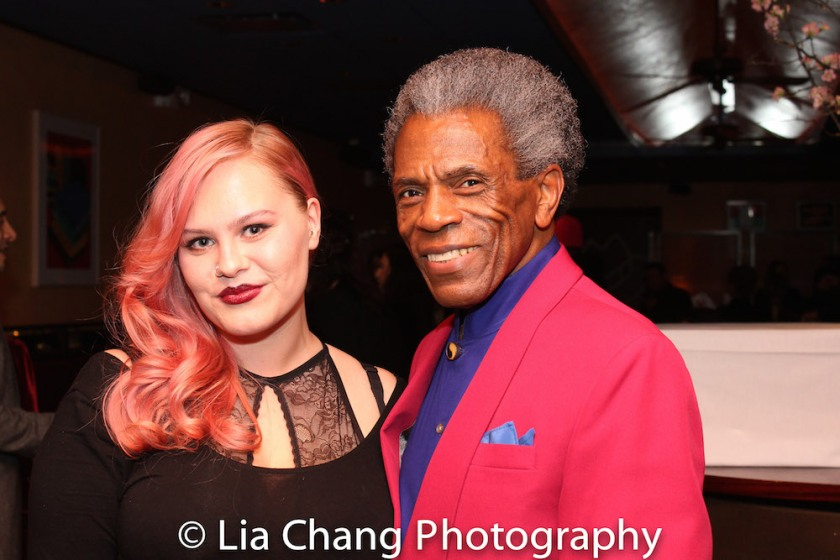 Ashley Robinson and André De Shields. Photo by Lia Chang