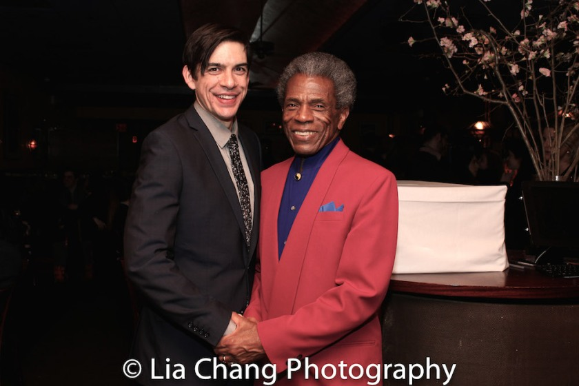 Bobby Moreno and André De Shields. Photo by Lia Chang