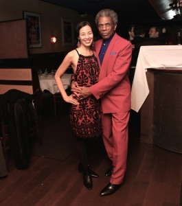 Lia Chang and André De Shields. Photo by Garth Kravits