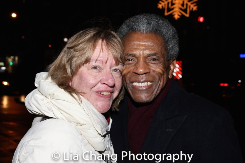 Margi Rountree and André De Shields. Photo by Lia Chang