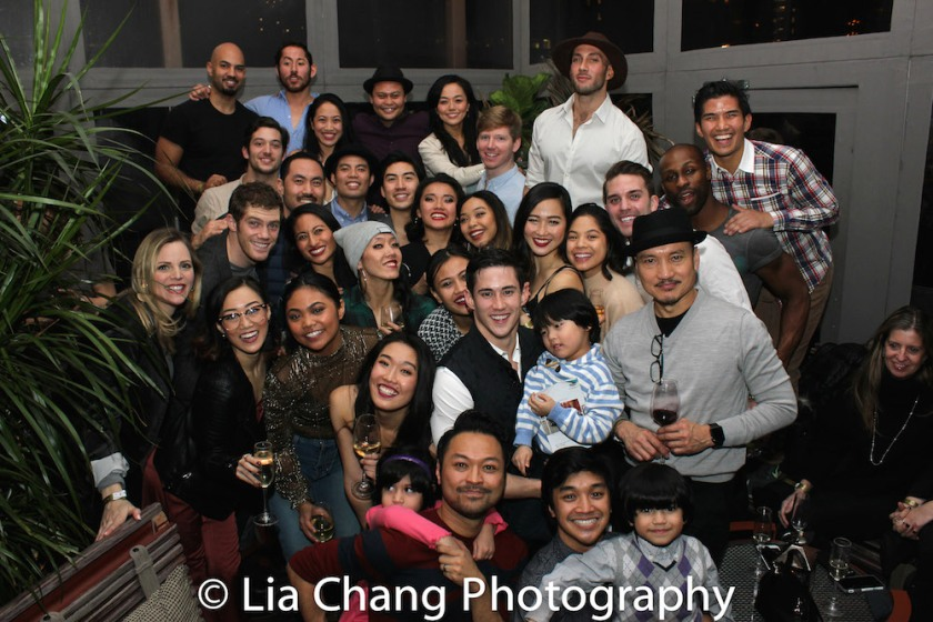 The cast of MISS SAIGON. Photo by Lia Chang