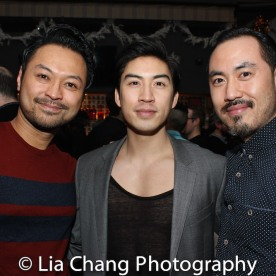 Billy Bustamante, Devin Ilaw and Marcus Choi. Photo by Lia Chang